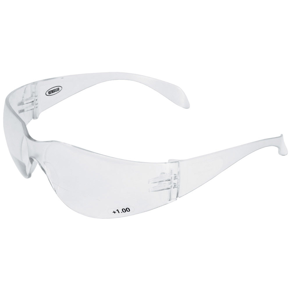 Iprotect® Readers, Clear Temple/Clear Power Lens