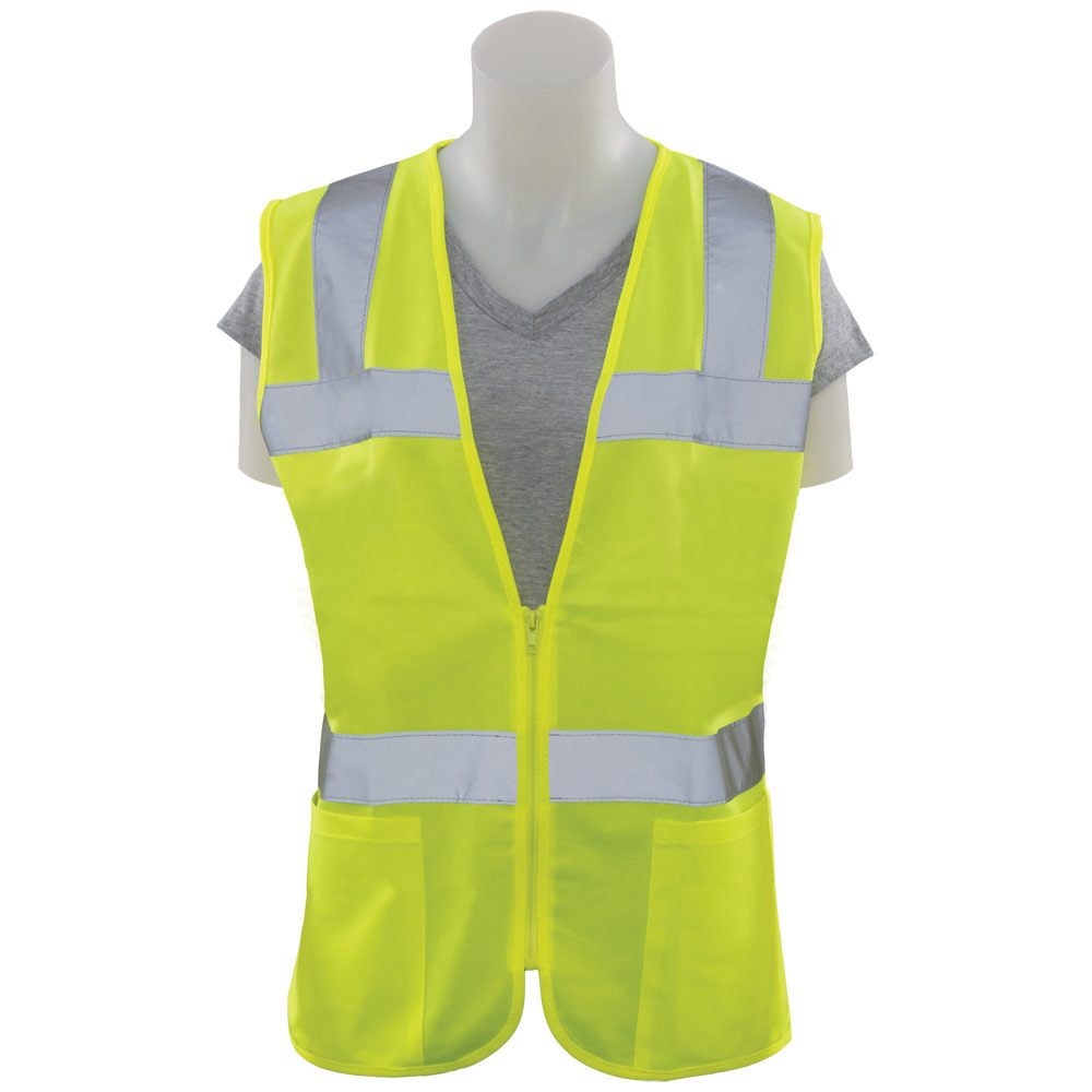 S720 Women's Fitted Tricot Vest, Class 2, HVL