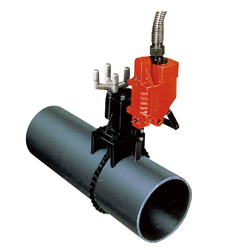 Pipe Saw for Cutting Ductile Cast Iron Pipes with Mortar Lining for Water 350 PAT.