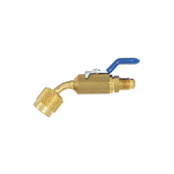 Refrigerant Release Prevention Ball Valve