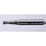 Standard Square End Mill, 2-Flute