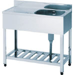 One-Tank Draining Sink SUS430