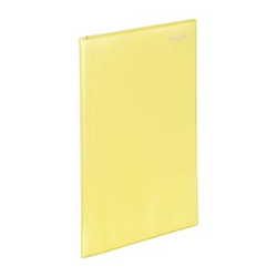 Super Slim Clear Book A4 10P Yellow