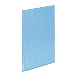 Super Slim Clear Book A4 10P Blue