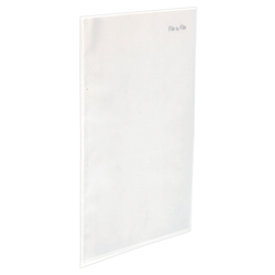 Super Slim Clear Book B5 10P Clear
