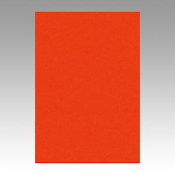 Color Drawing Paper, New Color Octavo Format Madder Red