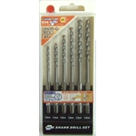 Concrete Drill Blade Set (6 Pieces) (CUSTOM KOBO)