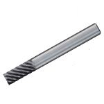 End Mill for Heat Resistant Alloy (with Minute Corner R) DV-SCMS Type