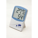 Digital Thermo Hygrometer - Blue