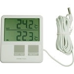 Indoor / Outdoor Thermometer - White