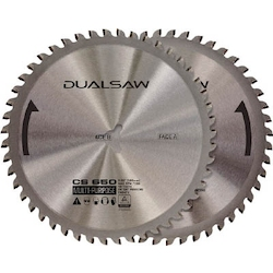 Dual Saw CS650 Tungsten Blade