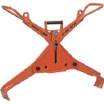Hanging Clamp for Laying Concrete Products (for Both Hand Operated and Mechanized Types)