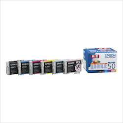 Ink Cartridge 6 Color Pack Type: Genuine IC6CL50