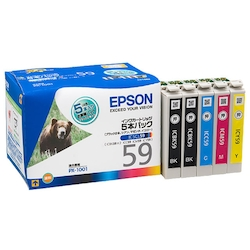 Inkjet Cartridge 4-Color Pack Type: Genuine IC5CL59