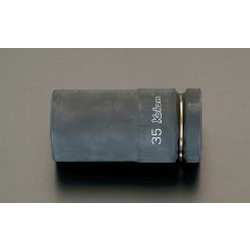 "(1"") Thin Deep Socket For Impact EA164FC-38"