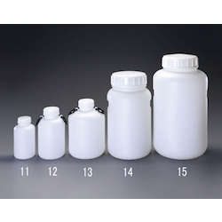 Wide-Mouth Polyethylene Container [4 pcs] EA508AJ-12B