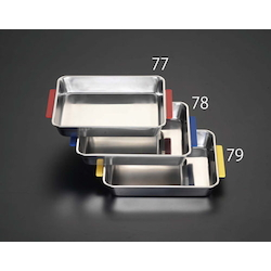 [Stainless Steel] Tray With Handle EA508SH-77