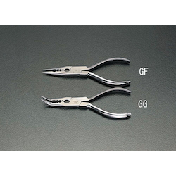 [Stainless Steel] Long nose Pliers with Hole EA537GG-160