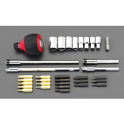 Power Grip Screwdriver Set [Ratchet Type] EA550AM