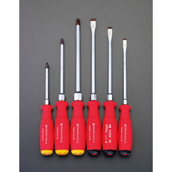 Screwdriver Set (6 Pcs) [With Handle-Side Hexagon Shaft] EA560PF