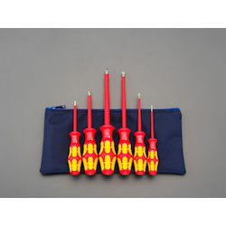 [6 Pcs] (+)(-) Insulated Screwdriver EA560WG-600