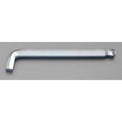 Hexagonal Key Wrench [Short Head][with Ball Point] EA573L-102.5
