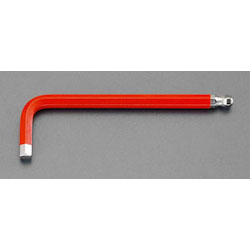 L-Shape Ball End Hex Key - Red, 6mm (ESCO)