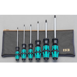 Hexagonal Key Screwdriver Set (With Ball Point) EA573SE