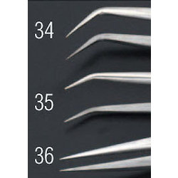 [Stainless Steel] Precision Tweezers EA595AK-35