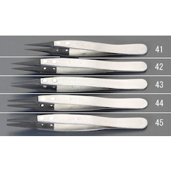 [ESD/Stainless Steel] Tweezers EA595AR-44