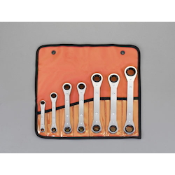 Ratchet Ring Wrench Set (Inc. 7pcs) EA602K-100B