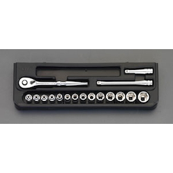 "1/4""sq Socket Wrench Set EA618NC-1"