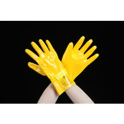 Insulated Urethane Gloves for Low Voltage (300VAC) EA640ZD-17