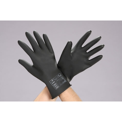 Insulated Thin Rubber Gloves For Low Voltage (750VDC) EA640ZD-5