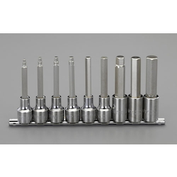 (1/2 ) Long Hex Bit Socket Set EA687CM-200
