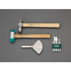 [4 Pcs] Hammer & Pin Punch Set (With tray) EA687YA-40