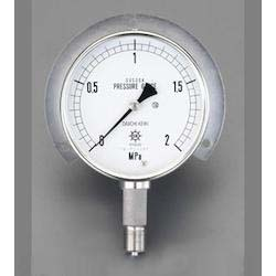 [All Stainless Steel] Pressure Gauge With Flange EA729DM-10