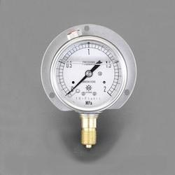 [Glycerin Filled] Pressure Gauge With Flange EA729GG-100