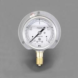 [Glycerin Filled] Pressure Gauge With Flange EA729GJ-10