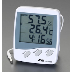 With Clock] Thermohygrometer EA742EG-7