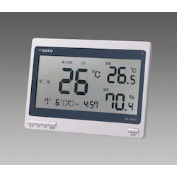 Heat Stroke Index Meter (with Radio Clock) EA742MK-30