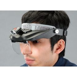 Head Loupe with LED Light EA756HD-5