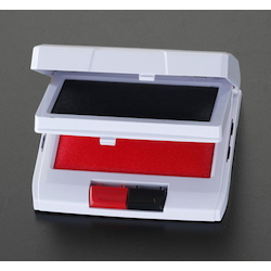 Two Stage Ink Pad [Red, Black] EA762AE-1