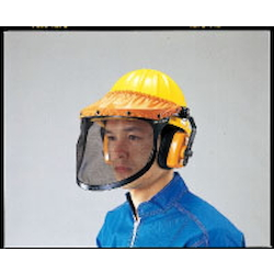 Accident Prevention Face Guard (with Hard Hat) EA768HM