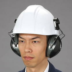 Hard Hat with Earmuffs EA800WS-9