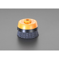 Cup Type Nylon Brush Containing Abrasive Grain EA809YR-3