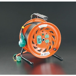 Plug-Socket Withdrawal and Plug Socket Panel Fixed Type Cord Reel (with Earth Leakage Breaker) EA815DP-2