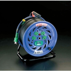 [Big Size Cable] Cord Reel with Earth Leakage Breaker EA815DT-2