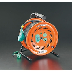 [Big Size Cable] Cord Reel with Earth Leakage Breaker EA815DT-6
