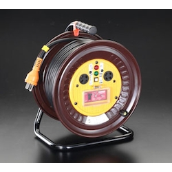 [With over Load Earth Leakage Breaker] Cord Reel [3-Phase 200V] EA815DY-3